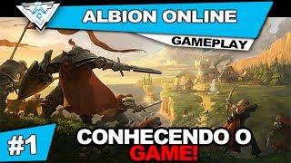 ALBION ONLINE #1 - CONHECENDO ESTE ÉPICO GAME!! / PT-BR 720p