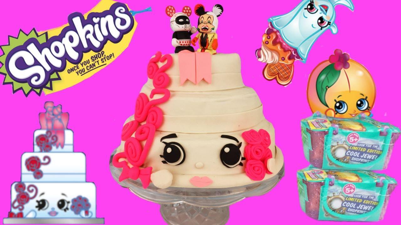 Shopkins Wendy Wedding Cake