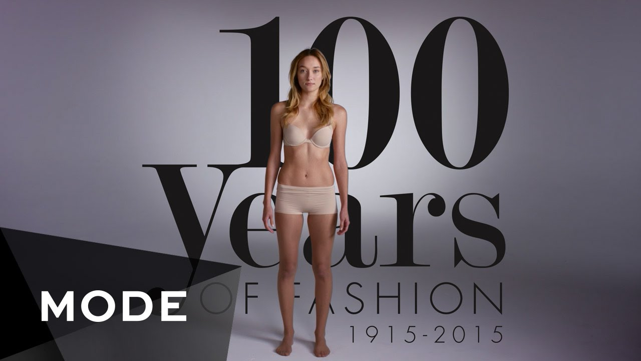 100 Years Of Fashion Women Glam Youtube