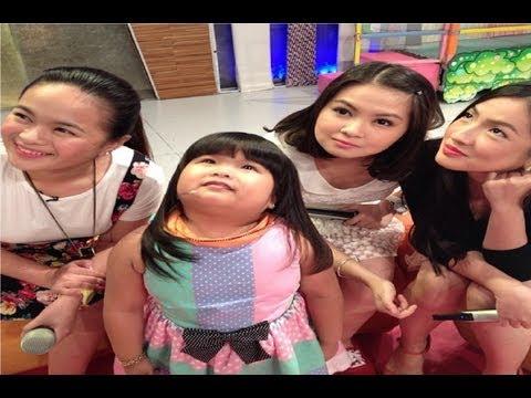 #AnnakareNina on The Ryzza Mae Show - Barbie Forteza, Kyrstal Reyes & Joyce Ching