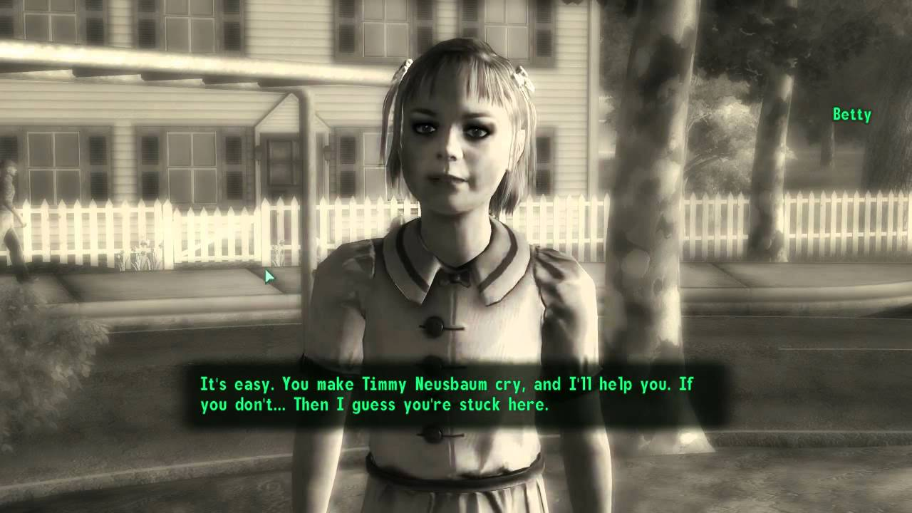 Fallout 3 Being Evil