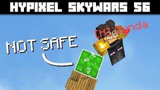 Trampoline Trickery | Hypixel Skywars 56