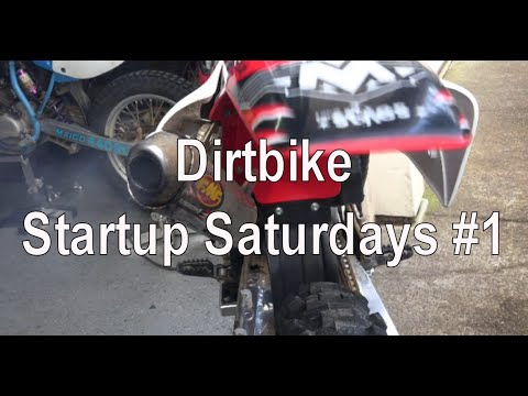 Dirtbike Startup Saturday - #1 - 2015 Maico 700