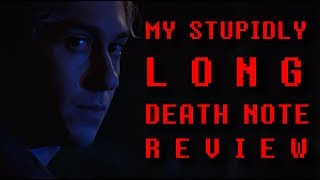 MY STUPIDLY LONG DEATH NOTE REVIEW
