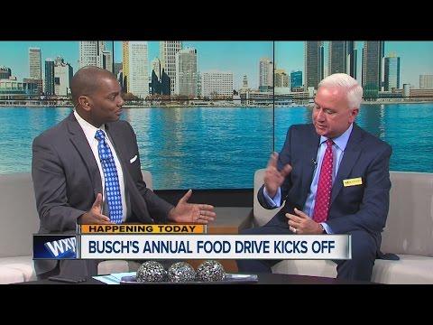 Busch's kicks off Season of Sharing Holiday Food Drive
