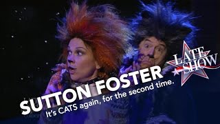 Sutton Foster and Stephen Colbert Have Modernized 'Cats'