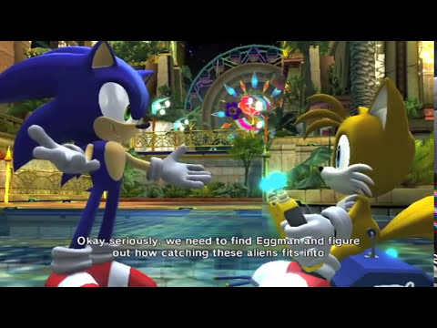 Sonic & Tails: The Boys Are Back (with lyrics)
