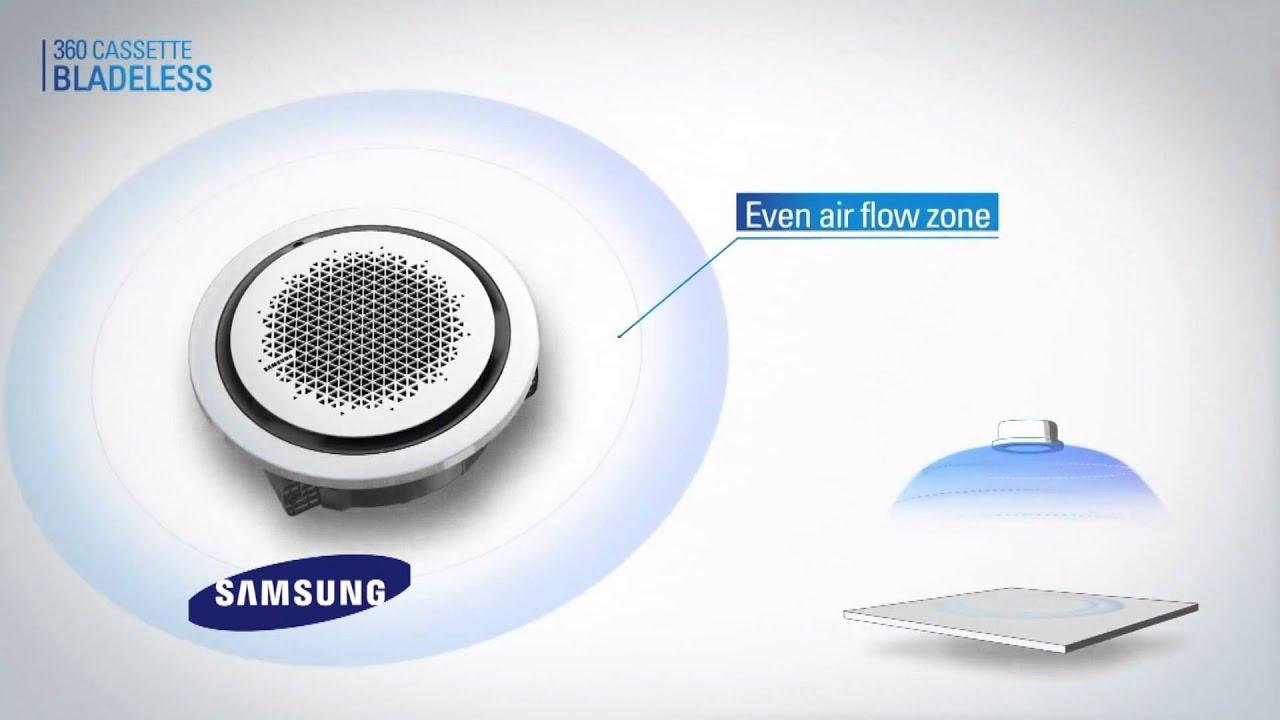 Presentaci n del aire acondicionado 360 de samsung en - Humidificador para aire acondicionado ...