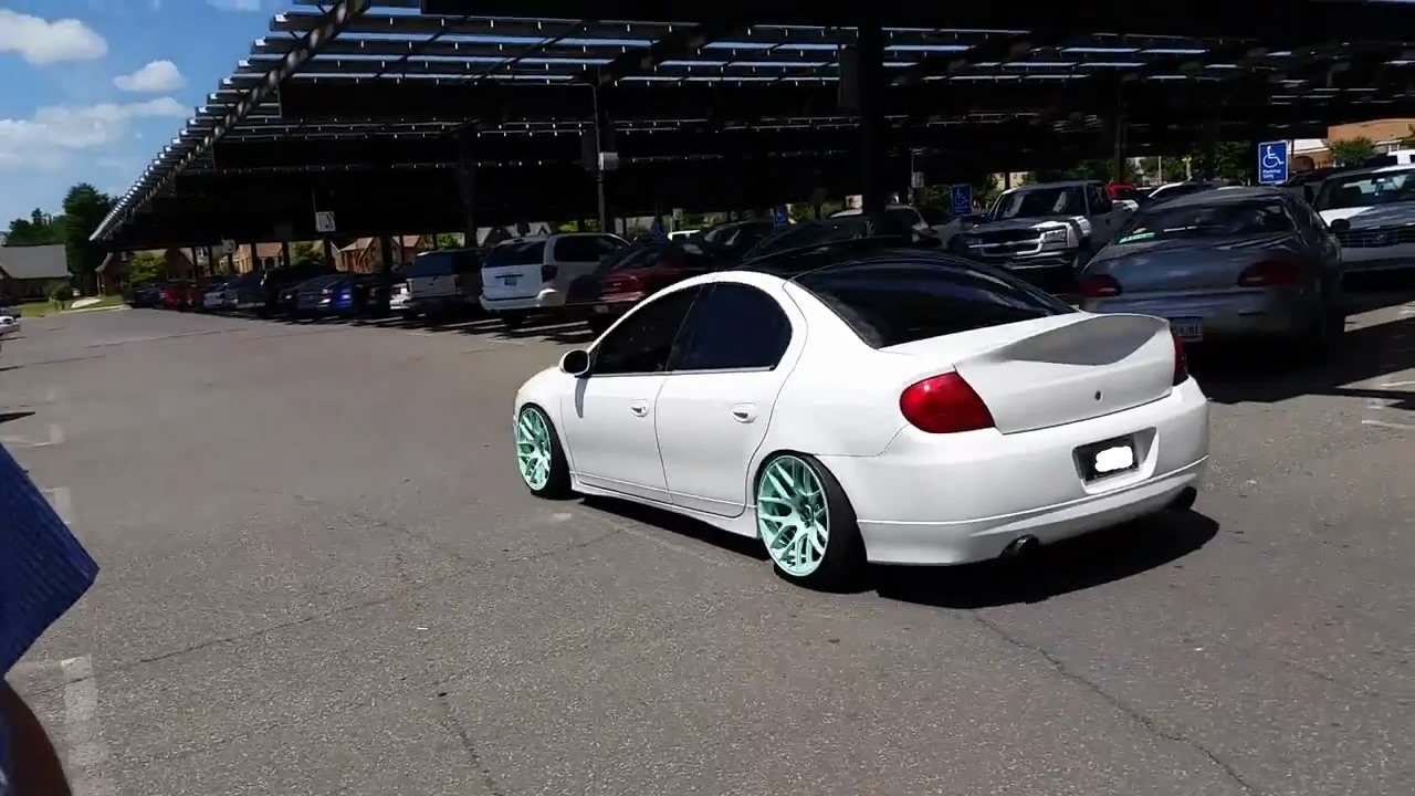 Dereks Srt4 Dodge Neon Low Stance Youtube