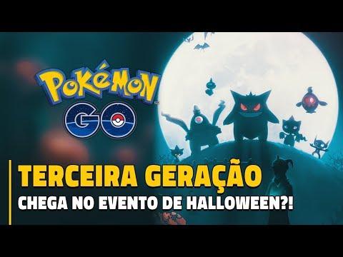 TERCEIRA GERAÇÃO NO EVENTO DE HALLOWEEN?!! | Data Mining 0.79.2 Pokémon GO