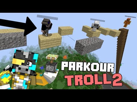 PARKOUR TROLL INVISIBLE CON TRAMPAS