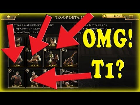 Iron Throne Are T1s Better Than T6?? (Insane Test Attack)