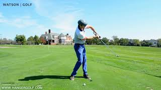 theHanger Golf Swing Aid: Initial Setup and Suggested Use