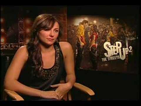 Briana Evigan interview for Step Up 2 the Streets