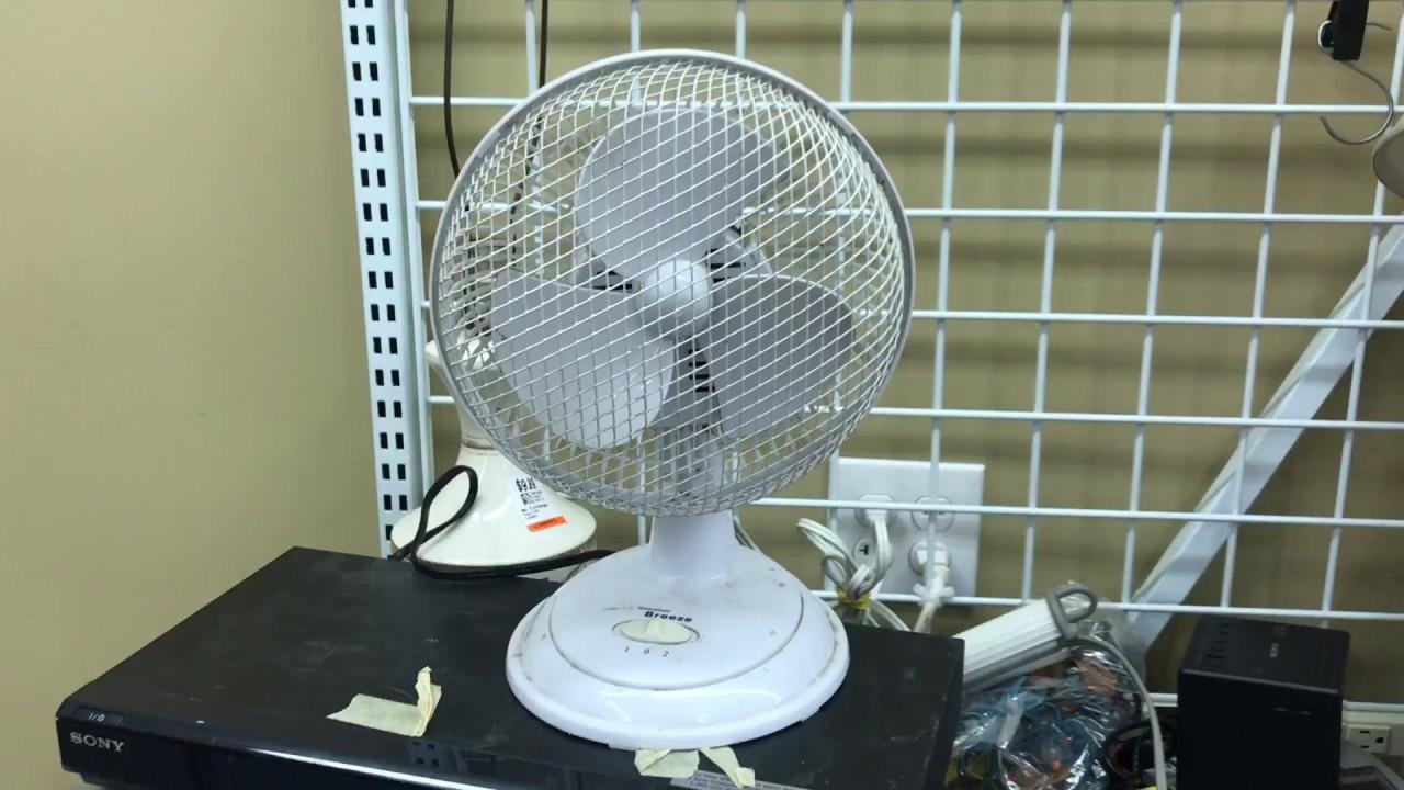 Hawaiian Breeze Desk Fan 6u201d (Quick Test)