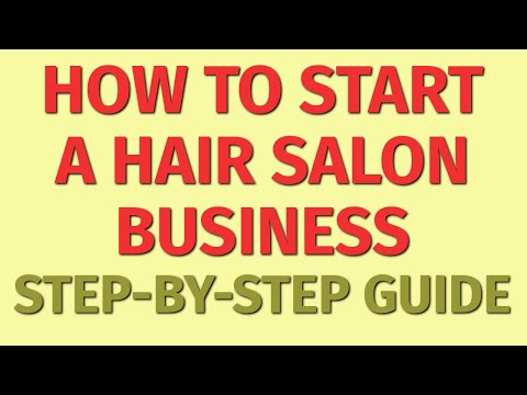 Starting a Hair Salon Business Guide   How to Start a Hair Salon Business  Hair Salon Business Ideas