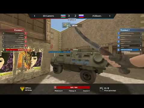 A3Boots vs 3D Gamers (Game 3)/ Legendary Division Season 6 Russia