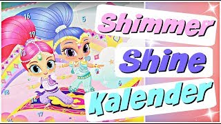 ACTION Adventskalender für Kinder Nickelodeon Shimmer Shine | Advent Calendar 2018