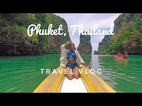 SOLO TRAVEL TO PHUKET, THAILAND Vlog !! | May 2018