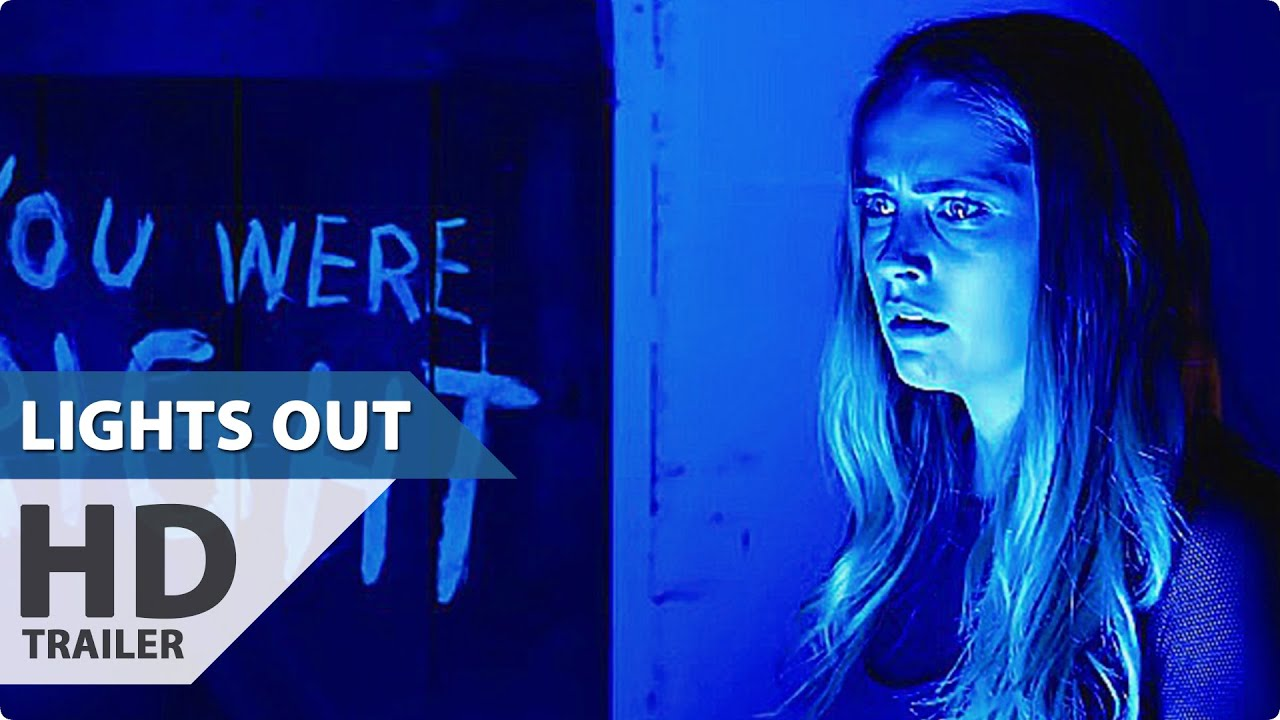 LIGHTS OUT All Trailer + Clips (Teresa Palmer Horror Movie   2016)   YouTube