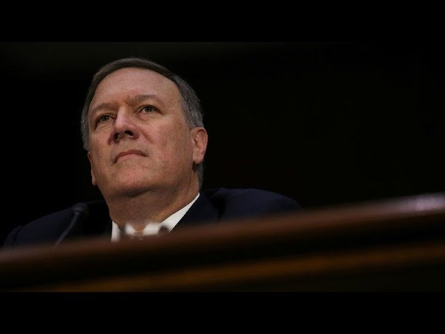 Senate prepares for Pompeo's confirmation hearing