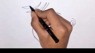 como dibujar a Adrien Agreste/ how to draw Adrien Agreste- the adventures of ladybug girl