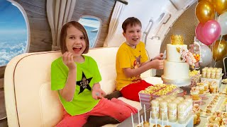 Напросились в Первый Классс Эмирейтс лететь домой из Дубаи