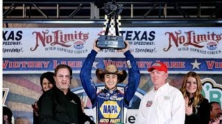 Victory Lane: Chase Elliott celebrates first NNS win