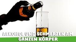 ALKOHOL im Zusammenhang mit SCHMERZEN - DAS wusstest DU noch nicht!