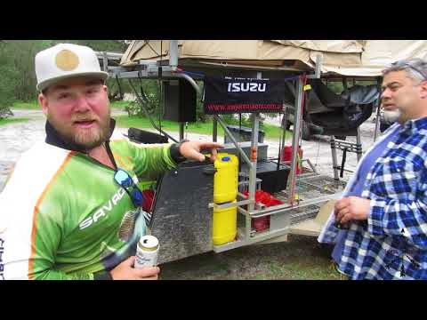 Custom Camper Trailer Walkaround - Quad Bike Camper Trailer