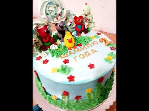 Торт для мальчика 2 года