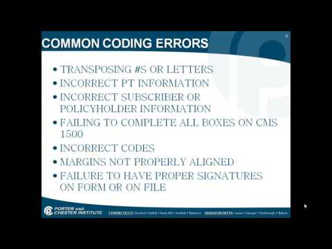 Medical Insurance Coding - Part 1