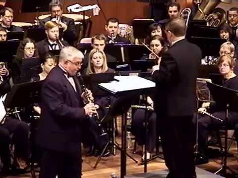 "Concert Fantasia on Motives from Verdi's Opera: ""Rigoletto"" by Luigi Bassi, Clarinet solo with Band"