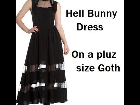 Hell Bunny Bellatrix Maxi Plus Size Youtube
