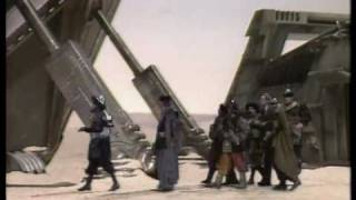 Landing on Tigella - Doctor Who - Meglos - BBC