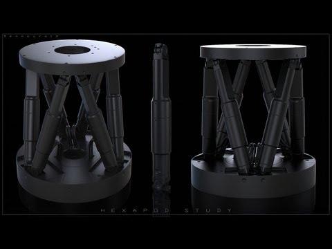 Ben Mauro - ZBrush Hard Surface - HEXAPOD