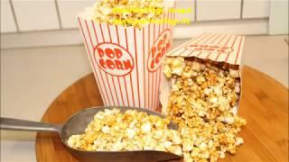 Popcorn hiç bu kadar tatlı olmamıştı, Karamelli Popcorn tarifi, Nurmutfagi NurGüL