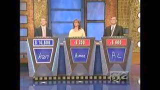 TV Game Show Fail, Blooper | Jeopardy | America's Funniest Viral Videos