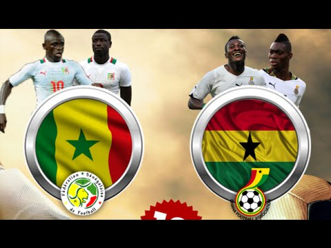 Senegal vs Ghana 3-1 2016 goals U20
