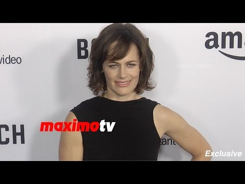 Sarah Clarke  BOSCH Premiere  Red Carpet  Exclusive