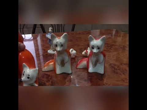 Советские статуэтки миниатюры цены очень разные$$$