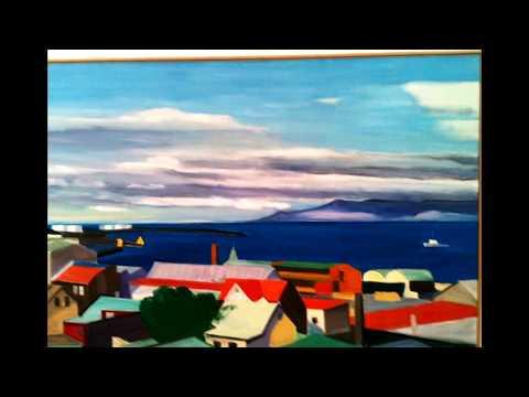 Kjarvalsstaðir : Louisa Matthíasdóttir , Jóhannes Sveinsson Kjarval 06.2017 Iceland art