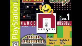 Namco Museum Vol. 1 - Rally-X Game Room Theme