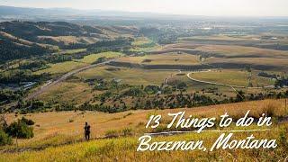 13 Things to do in Bozeman, Montana