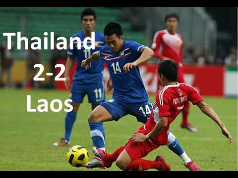 Laos 2 - 2 Thailand (all goals) Suzuki Cup 2010
