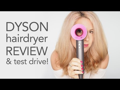 Dyson Hairdryer Review - Unboxing and testdrive! | Hair Romance