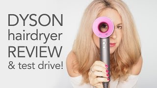 Dyson Hairdryer Review - Unboxing and testdrive!   Hair Romance
