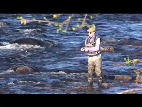 Atlantic Salmon Fly Fishing Holidays In Russia-Kola Peninsular-Kharlovka & Litza Rivers