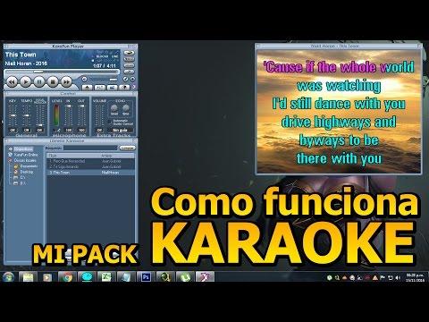 Como reproducir mis Karaokes en mi PC? - Tutorial Karaoke