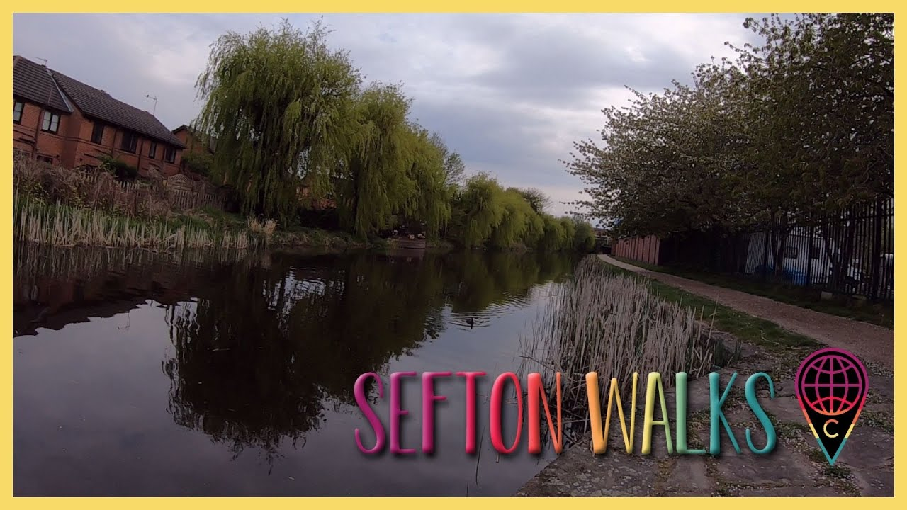 Sefton Walks: Bootle Strand Canal